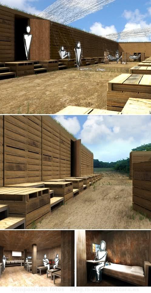 modulos-alojamiento-temporal sostenible