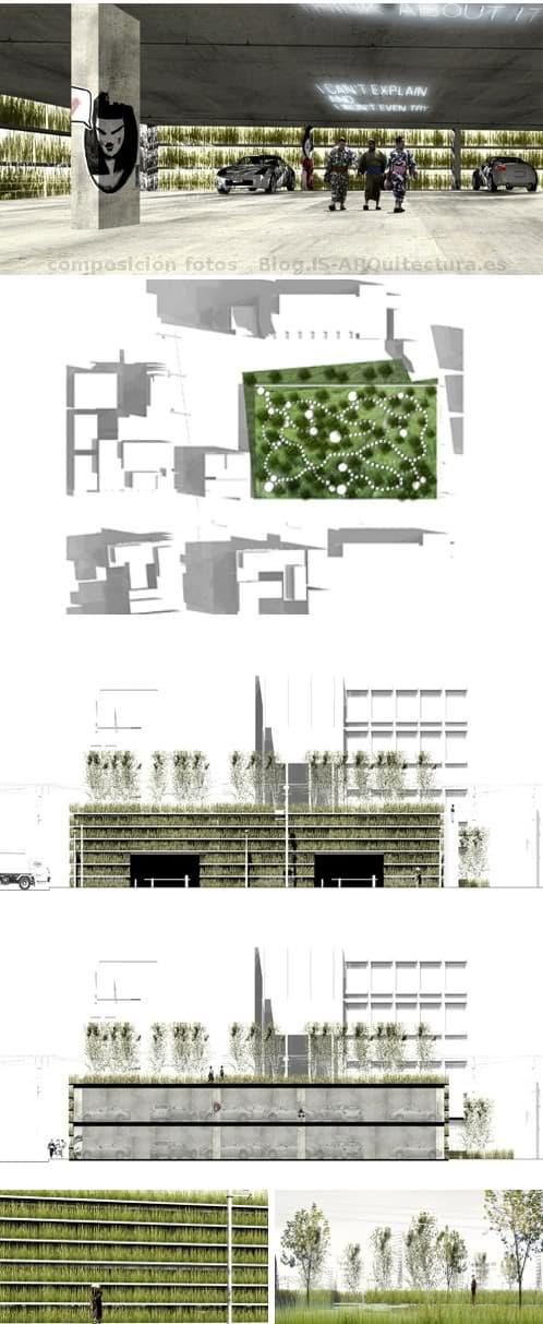 shinjuku-aparcamiento-muros-azotea-verdes-1