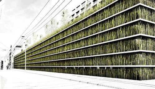 shinjuku-parking-muros-azotea-verdes