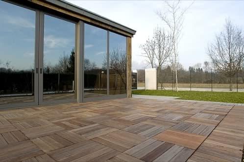 Pavimento exteriores de madera recuperada y restaurada - Baldosas de madera para exterior ...