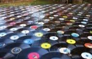 Una forma de reciclar los discos de vinilo