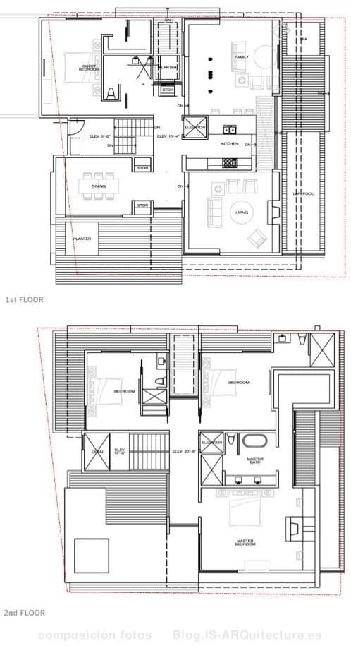 Planos de casas lujosas imagui - Planos casas de lujo ...