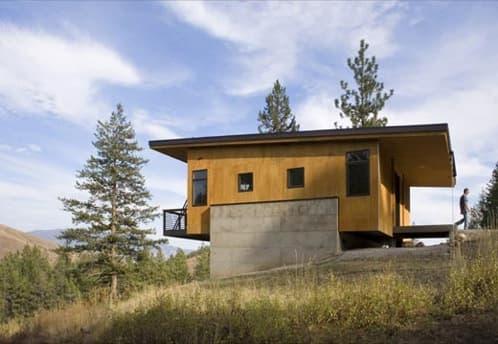 cabana-madera-y-hormigon