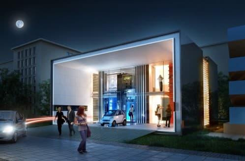 Casa Plus-Energy: genera energía para ella y el coche