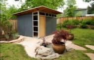 Los cobertizos prefabricados de Studio Shed