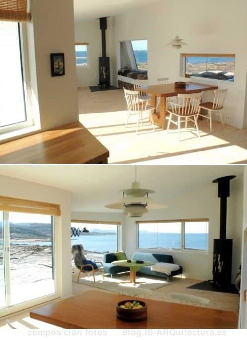 moderno-refugio-costa-noruega fotos interior
