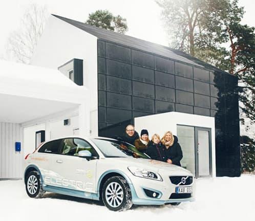 coche-electrico-casa-prefabricada