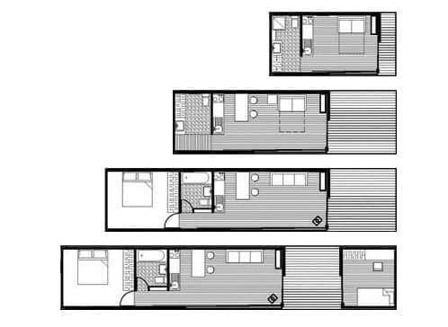 planos de planta casa Zenkaya