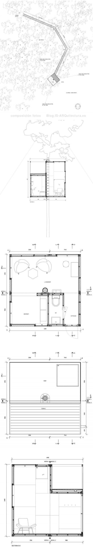 planos-refugio-mirror-cube-treehotel