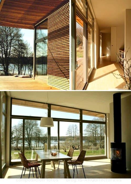 casa-prefabricada-madera-para-vacaciones, fotos del interior