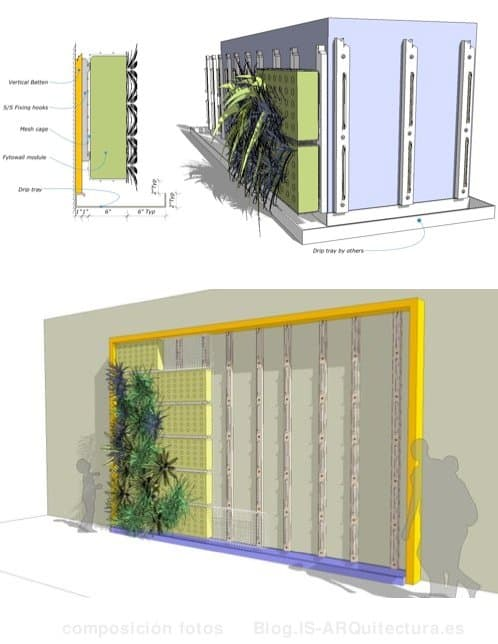 Outdoors on pinterest vertical gardens gardening and for Jardin vertical