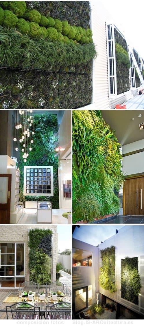 Fytowall sistema para jardines verticales con riego - Jardin hidroponico ...
