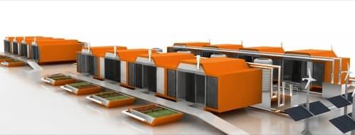 Techno box m dulos prefabricados para emergencias - Modulos de vivienda prefabricados ...