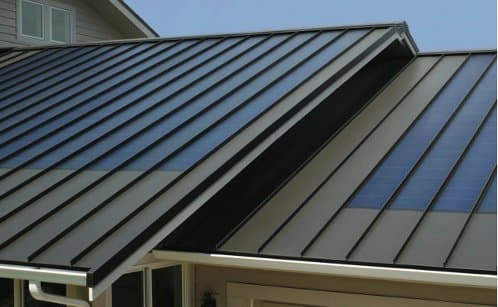 Fusionsolar tejas solares para tejados met licos for Tejados solares