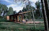 Pabellón en el jardín, de Lake Flato