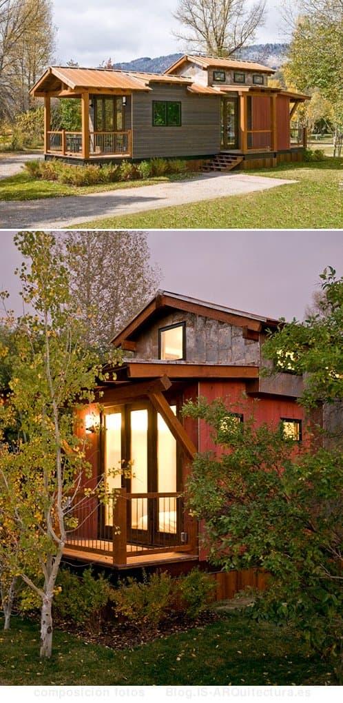 cabaña-madera-metal-park_model, fotos exteriores