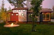 Park Model: cabaña de paneles SIP