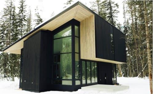 PIONEER: moderna cabaña prefabricada canadiense