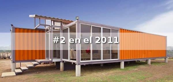 Casa de 2 contenedores de 40 pies - Casas prefabricadas contenedores ...