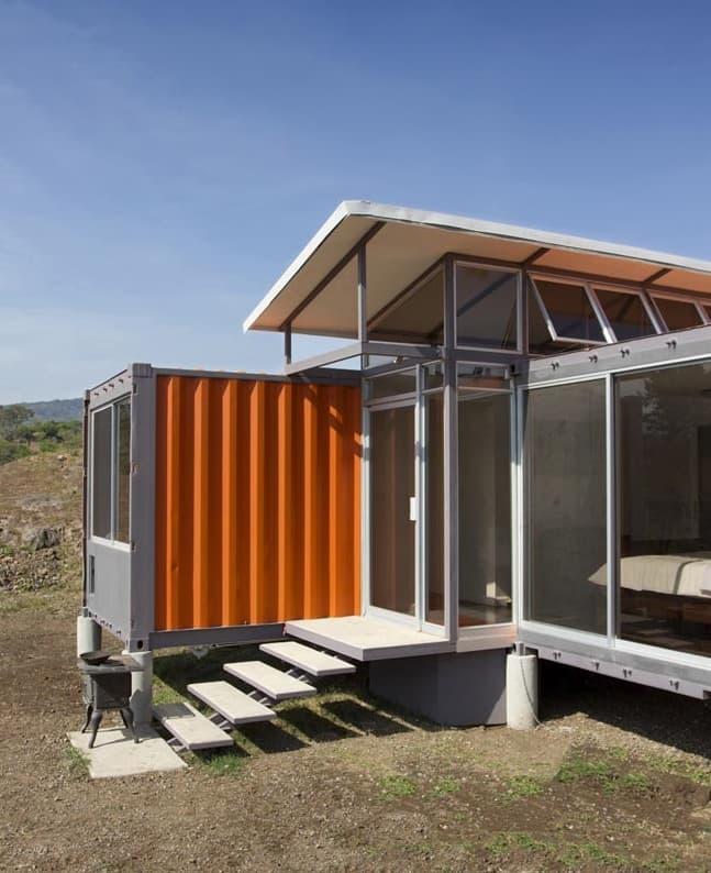 Casa de 2 contenedores de 40 pies - Contenedores para vivienda ...