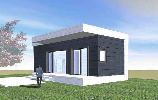 Pin divisiones de modulares aluminio y vidrio otras ventas - Mini casas prefabricadas ...