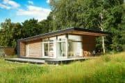 Sommerhaus PIU: casa de verano prefabricada