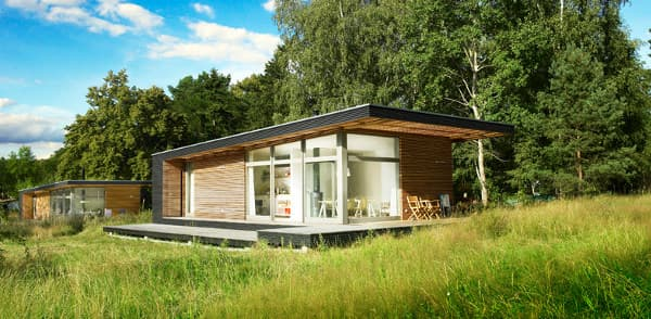 Sommerhaus PIU casa de verano prefabricada