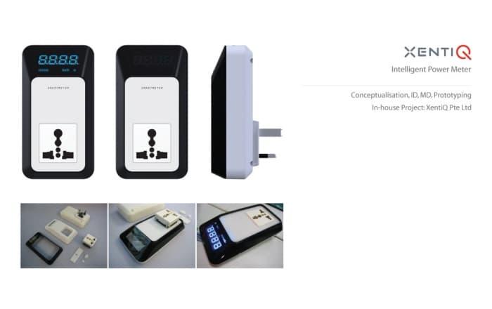 concepto de medidor de consumo eléctrico