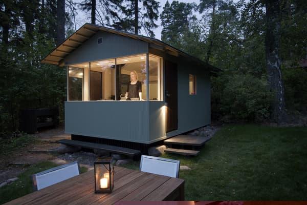 casa de campo prefabricada finlandesa