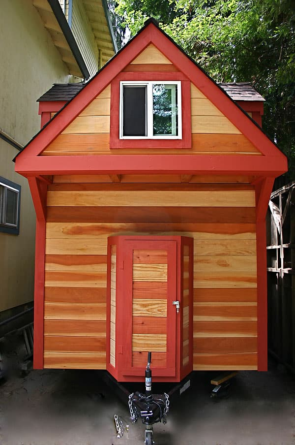 Casa diminuta sobre ruedas 18m2 - Casas moviles madera ...