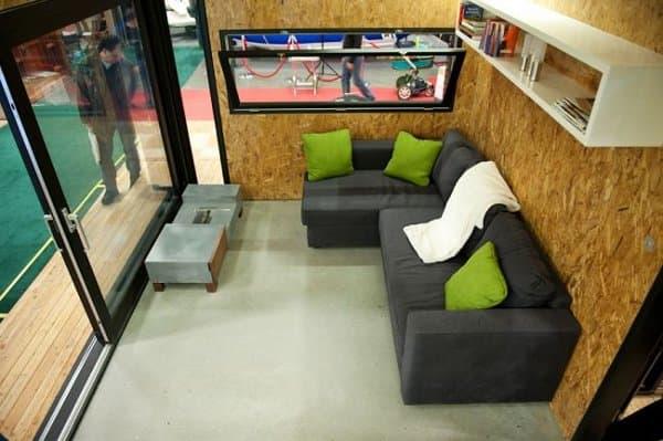 Faberhaus-foto interior desde el loft