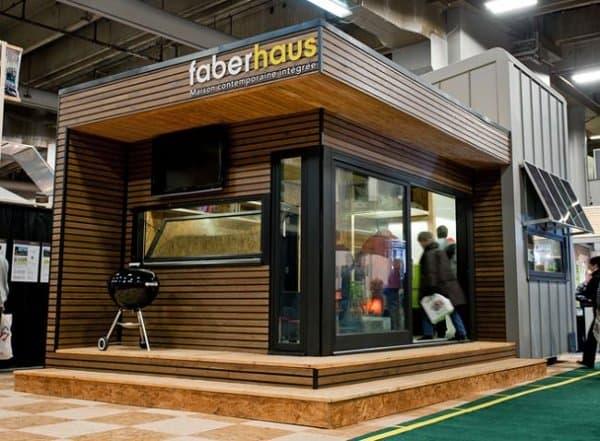vivienda prefabricada FaberHaus desenchufada