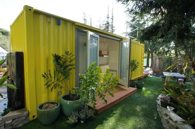Casa contenedor de 18m2 prefabricada nomad c192 - Casa contenedor maritimo precio ...