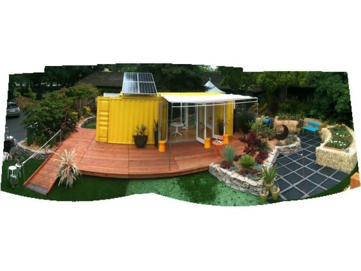 Casa contenedor de 18m2 prefabricada nomad c192 - Casas contenedores precio ...