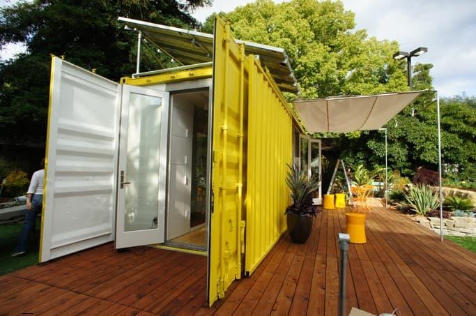 Casa contenedor de 18m2 prefabricada nomad c192 - Contenedor maritimo casa ...