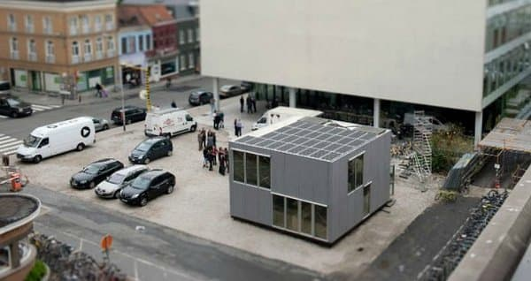 casa E-Cube Gante SolarDecathlon_2011