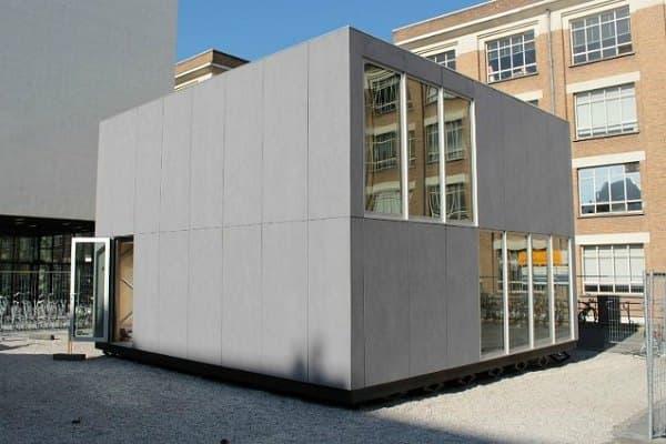 exterior casa prefabricada E-Cube
