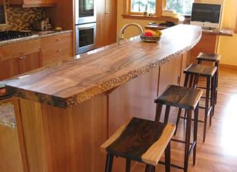 Encimeras de madera hechas a mano por endurawood for Encimeras de cocina de madera maciza