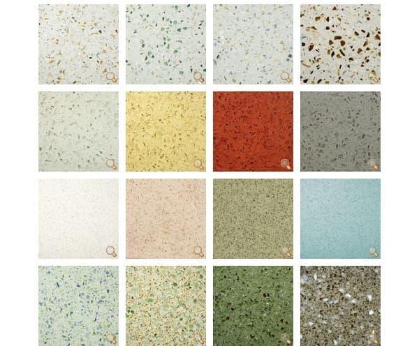encimeras de vidrio y cemento IceStone