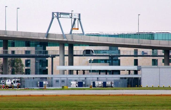 PODCars-PRT aeropuerto Heathrow