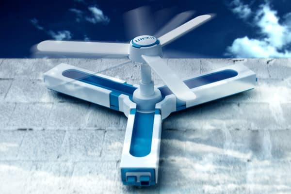 Wind Cube, sistema modular eólico para las fachadas