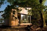 Habitaciones 'Mono-pitch' de Ecospace