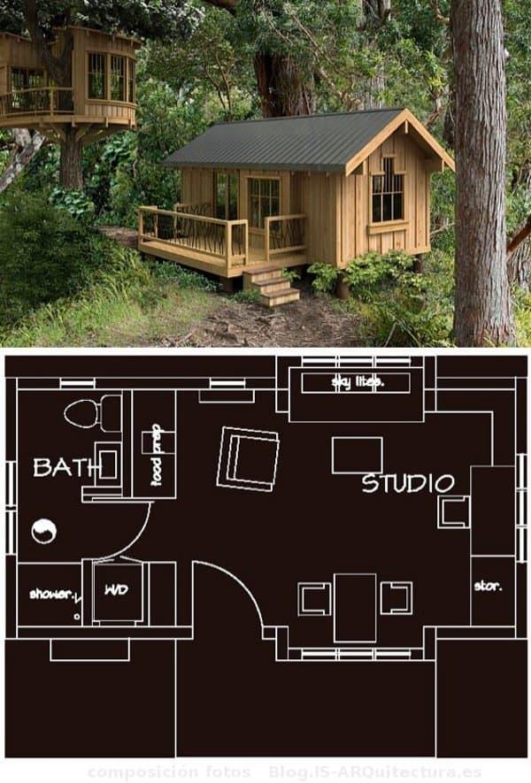 Modelos greenpods de casas prefabricadas - Casas de madera pequenas ...