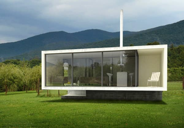 Casa bungalow con energ a geot rmica y dise o sostenible for Design della casa bungalow