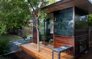 Sett Studio: oficina para el jardín
