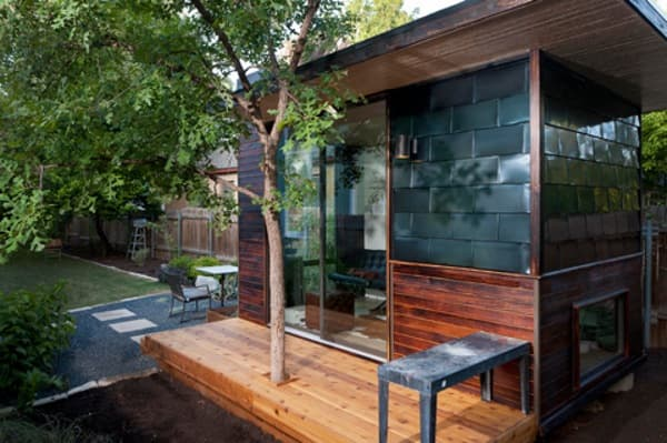 Sett studio modernas oficinas prefabricadas de paneles sip for Oficina prefabricada