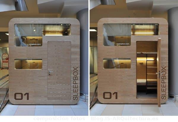 SleepBox es una realidad en el aeropuerto de Moscú