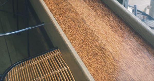 Durapalm: material de madera reciclada