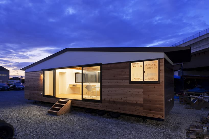 Casa m vil sobre ruedas de atelier tekuto - Casas moviles madera ...