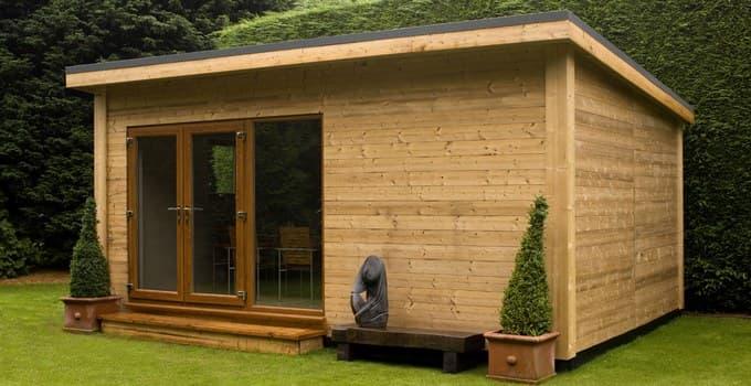 Casetas prefabricadas de madera para el jard n de tsc for Casetas de chapa para jardin segunda mano